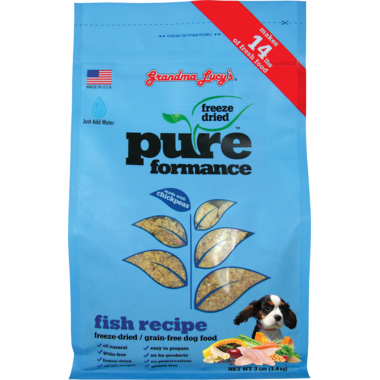 Grandma Lucy\'s Pureformance Fish Freeze-Dried Grain-Free Dog Food