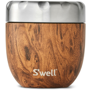 S\'well Eats Stainless Steel Thermal Container Teakwood