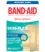 Band-Aid Skin-Flex Adhesive Bandages Assorted Sizes