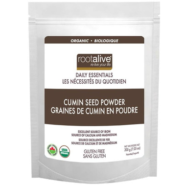 Rootalive Organic Cumin Seed Powder