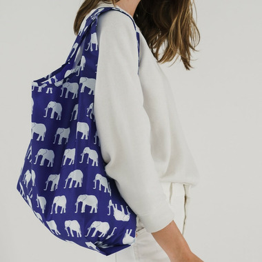 Baggu Standard Baggu Blue Elephant