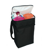 J.L. Childress TwoCool 2-Bottle Cooler Black
