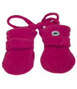 Calikids Fleece Baby Mitts Fuschia
