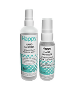 Happy Hand Sanitizer Small + Large Spray Bundle