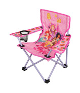 Princess Camp Chair + Cup Holder