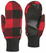 Kombi The Hip Mitt Junior Red Buffalo Plaid