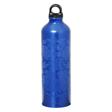 Gaiam Medallion Aluminum Screw Top Water Bottle