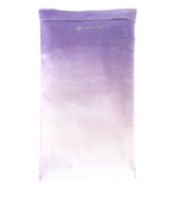 Halfmoon Crystal Collection Silk Eye Pillow Amethyst