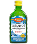 Carlson Norwegian Cod Liver Oil Lemon Flavour Small Bottle
