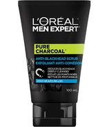 L'Oréal Paris Men Expert gommage visage charbon pur avec charbon de chêne