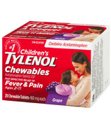 Tylenol Children's Chewable Tablets Grape