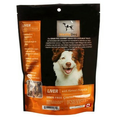 Vitality Dog Liver with Harvest Pumpkin Dog Treats