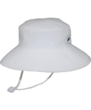 Puffin Gear Sunbaby Oxford Hat White