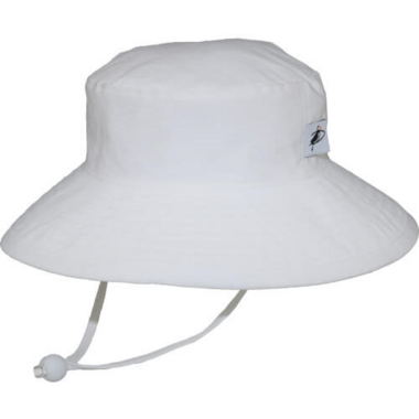 Puffin Gear Sunbaby Oxford Hat White