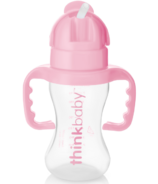 Thinkbaby Thinkster Straw Bottle Pink