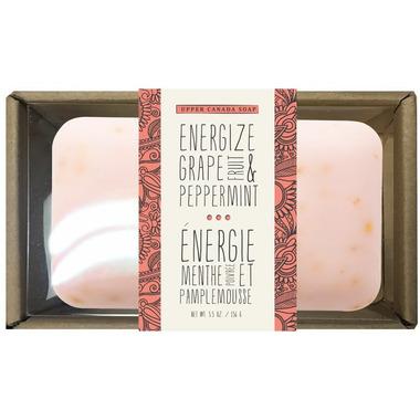 Naturally Upper Canada Soap Bar Energize