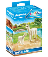 Playmobil Family Fun Alpaca with Baby