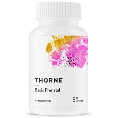 Thorne Research Basic Prenatal Multivitamins