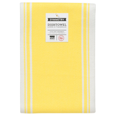 Now Designs Symmetry Lemon Tea Towel