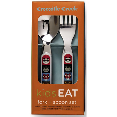 Crocodile Creek Cutlery Set Jungle Jamboree