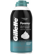 Gillette Foamy Sensitive Shaving Cream