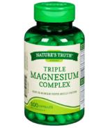 Nature's Truth Magnesium Triple Complex