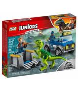 LEGO Juniors Jurassic World Raptor Rescue Truck
