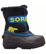 Sorel Children's Snow Commander Black & Super Blue