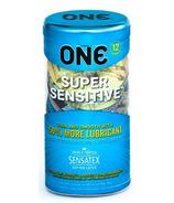 ONE Super Sensitive Condoms en paquet de 12