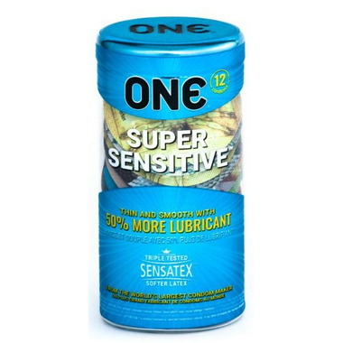 ONE Super Sensitive 12-Pack Condoms