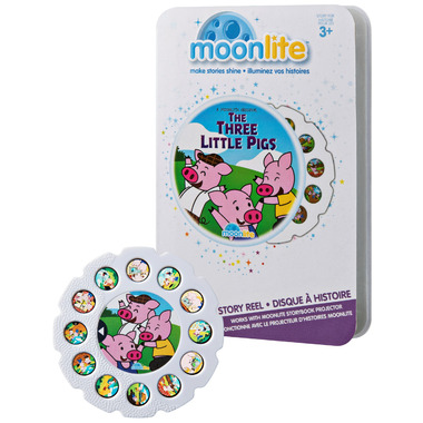 Moonlite The Three Little Pigs Story Reel for Storybook Projector
