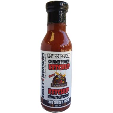 Crazy Mooskies Spicy Gourmet Ketchup