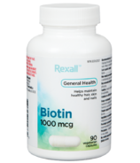 Rexall Biotin 1000 mcg