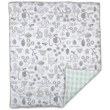 Lolli Living Baby & Toddler Quilted Comforter Kayden Elle Elephant