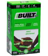 Barre bâtie Brownie à la menthe