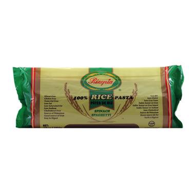 Rizopia 100% Rice Pasta Spinach Spaghetti