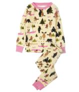 Hatley Pink Wilderness Storytime Kids Pajama Set
