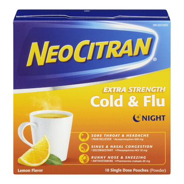 NeoCitran Extra Strength Cold & Flu Night