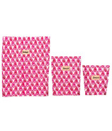 BeeBAGZ Beeswax Bags Starter Pack Pink