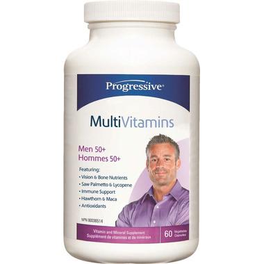 Progressive MultiVitamin for Men 50+