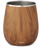 S'well Stainless Steel Wine Tumbler Teakwood