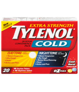 Tylenol Cold Extra Strength Day + Night eZ Tabs