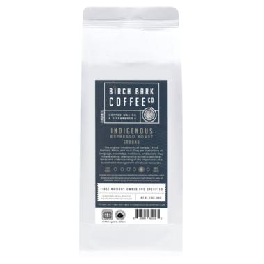 Birch Bark Coffee Indigenous Ground Espresso Roast