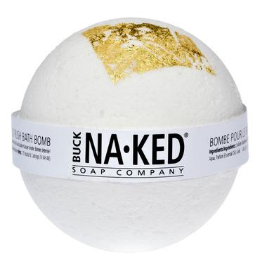 Buck Naked Soap Company Gold Rush Bath Bomb
