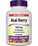Webber Naturals Acai Berry