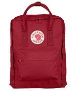 Fjallraven Kanken Backpack Deep Red