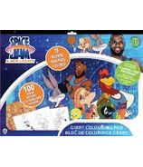 greenre Eco-Space Jam Giant Colouring Pad with Stickers