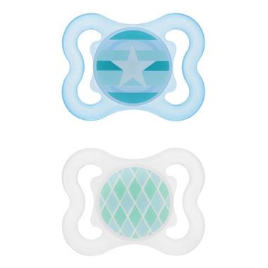 Mam Silicone Mini Air Pacifier Blue