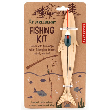 Kikkerland Huckleberry Make Your Own Fishing Rod