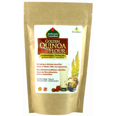 Ecoideas Authentic Canadian Organic Golden Quinoa Flour
